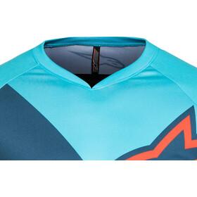 Alpinestars Racer Koszulka kolarska z krótkim rękawem Mężczyźni, atoll blue/poseidon blue